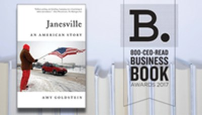 In Praise of Janesville: The 2017 800-CEO-READ Business Book of the Year