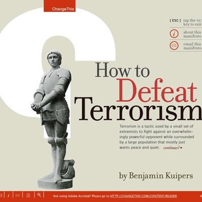 How to Defeat Terrorism