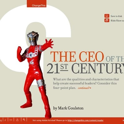 The CEO of the 21st Century