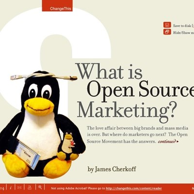 What is Open Source Marketing?