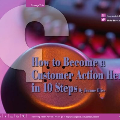 How to Become a Customer Action Hero in 10 Steps