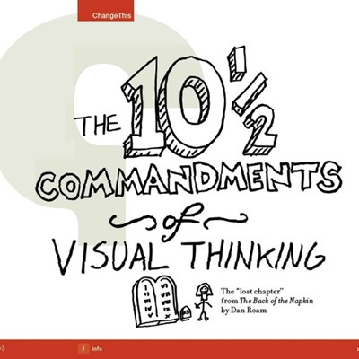 "The 10 1/2 Commandments of Visual Thinking: The ""Lost Chapter"" from The Back of the Napkin"