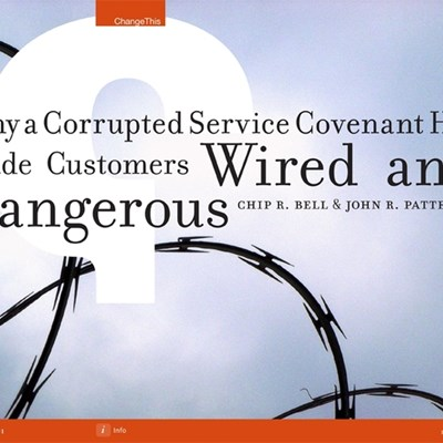 Why a Corrupted Service Covenant Has Made Customers Wired and Dangerous