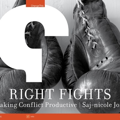 Right Fights: Making Conflict Productive