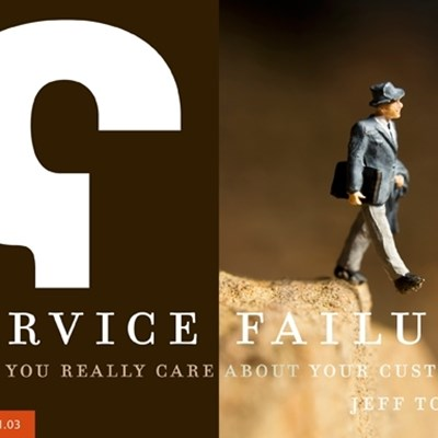 Service Failure: Do You Really Care About Your Customer?