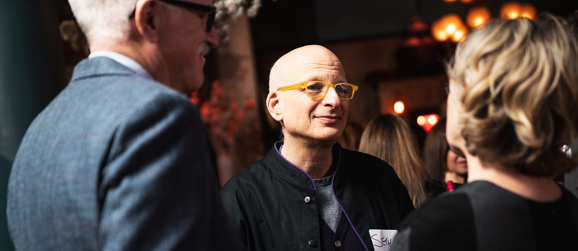 Jack Covert, Seth Godin, and Carol Grossmeyer