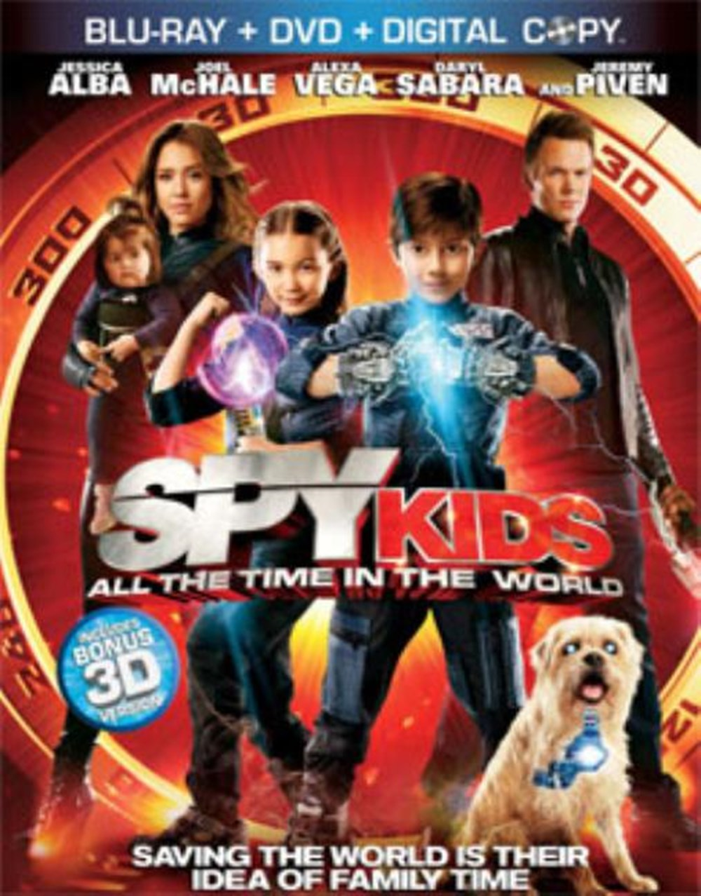Spy Kids All the Time in the World (DVD Included)