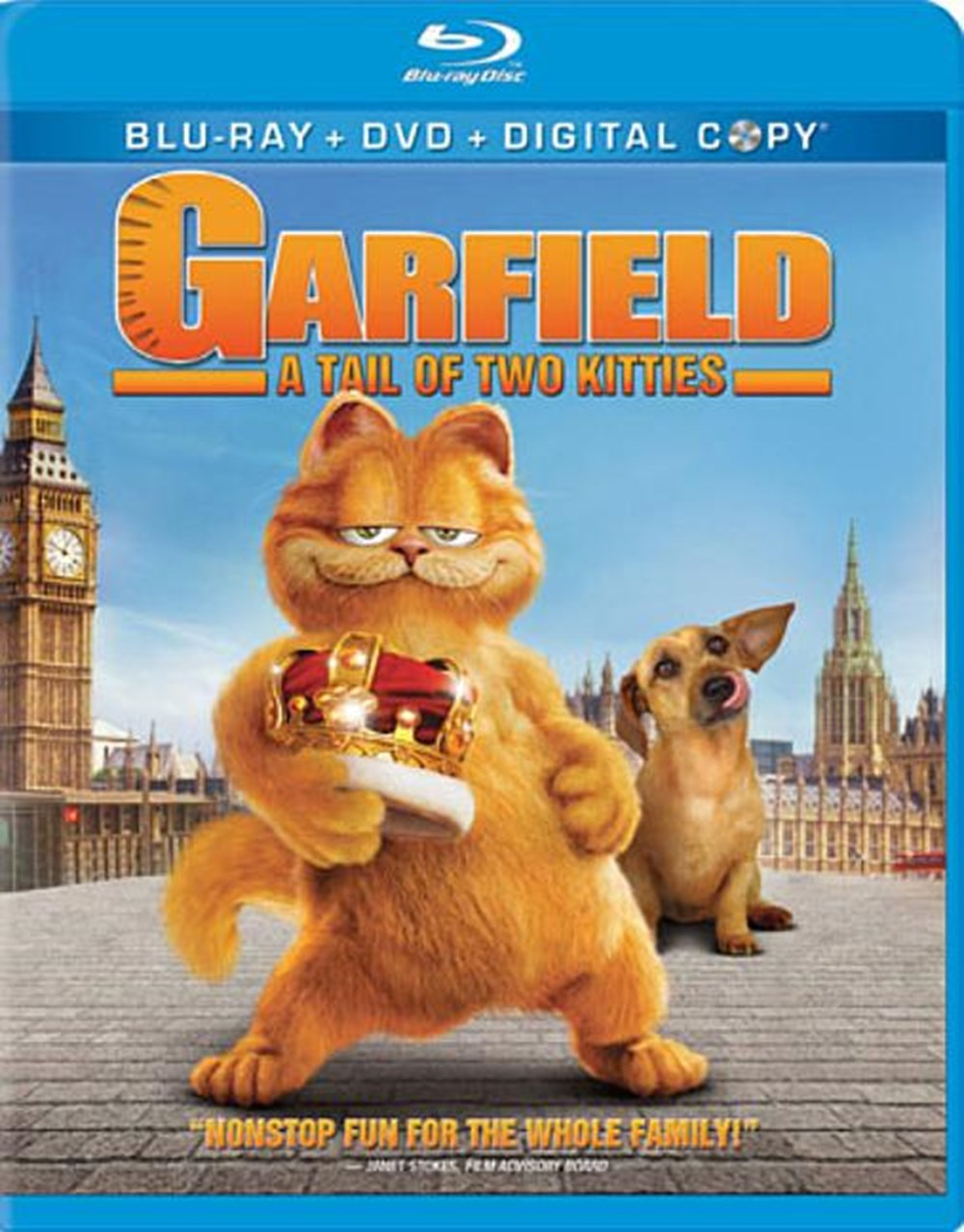 Garfield A Tail of Two Kitties (DVD & Digital Copy Included)
