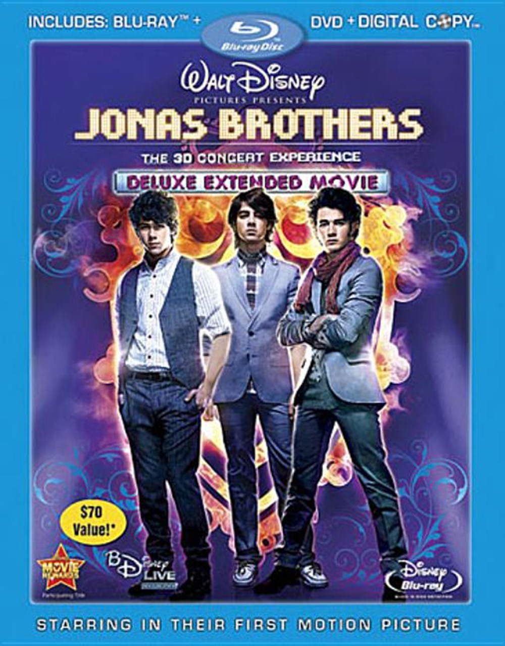 Jonas Brothers The 3D Concert Experience (Extended)
