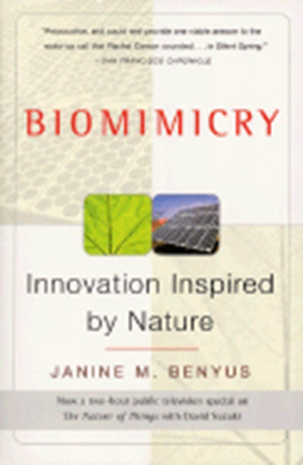 Biomimicry Innovation Inspired by Nature