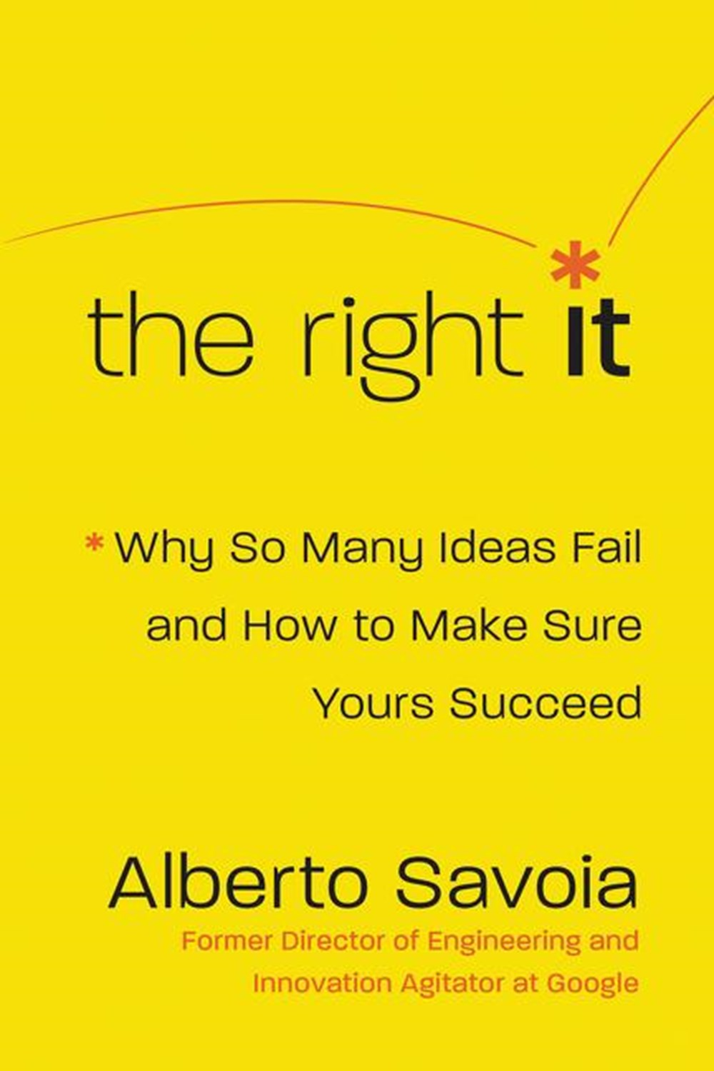 Right It Why So Many Ideas Fail and How to Make Sure Yours Succeed