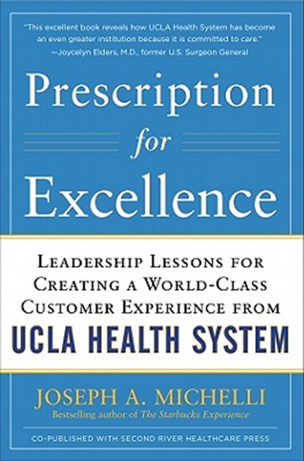 Prescription for Excellence Leadership Lessons for Creating a World-Class Customer Experience from U
