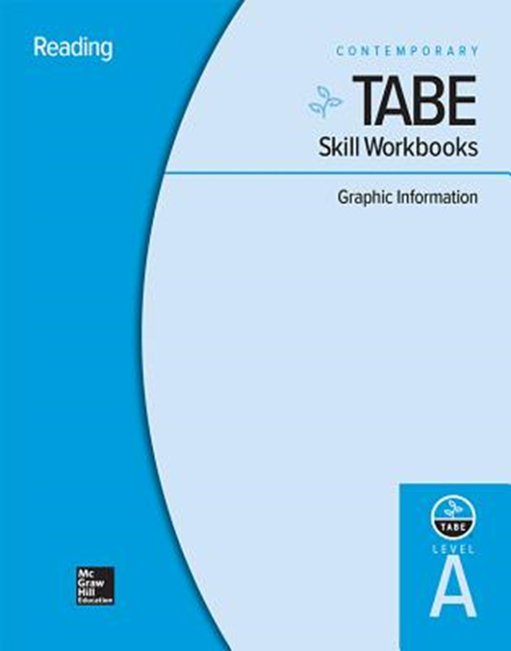 Tabe Skill Workbooks Level A Graphic Information - 10 Pack