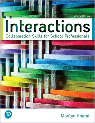 Interactions: Collaboration Skills for School Professionals [rental Edition]