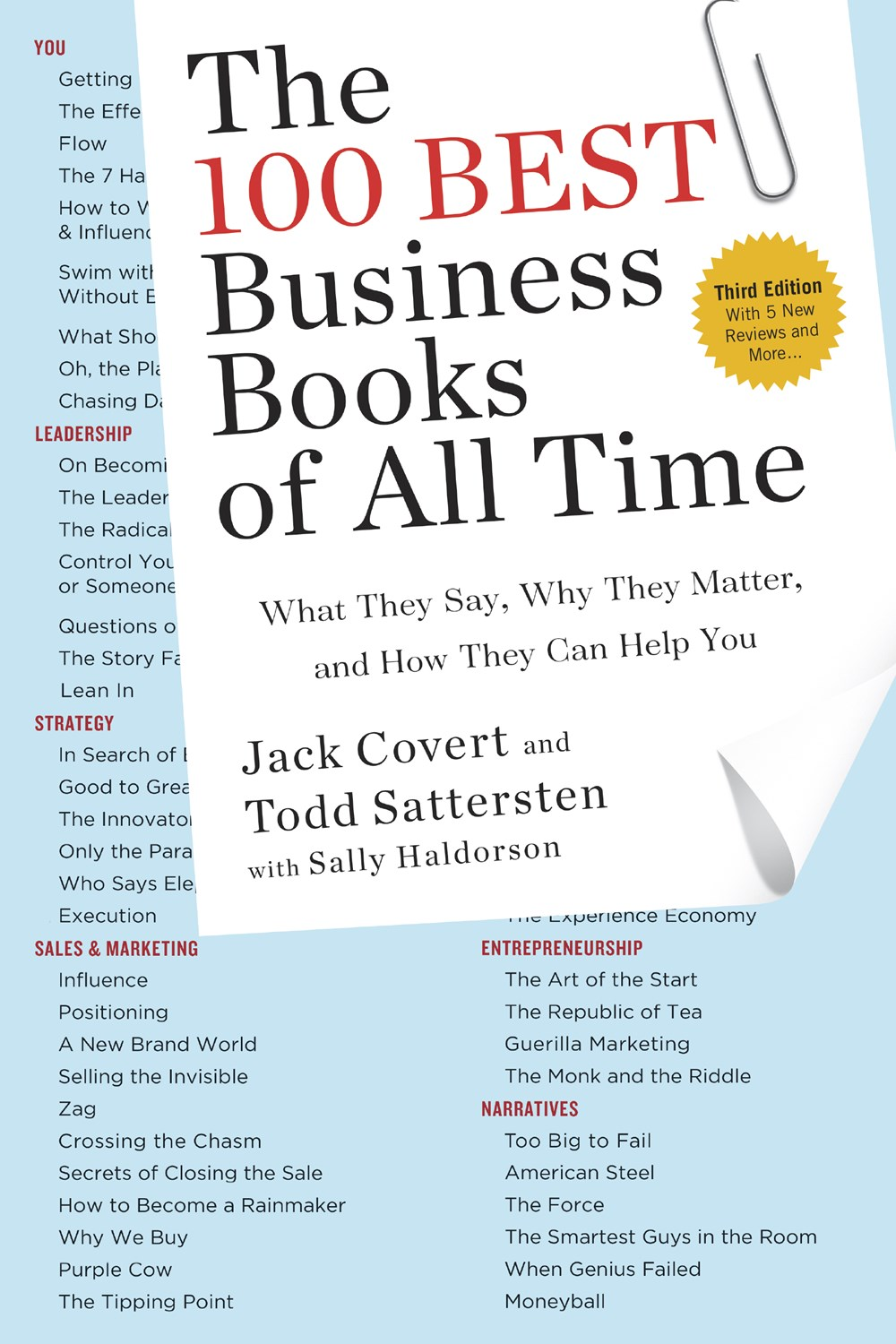 100 Best Business Books of All Time What They Say, Why They Matter, and How They Can Help You (Updat