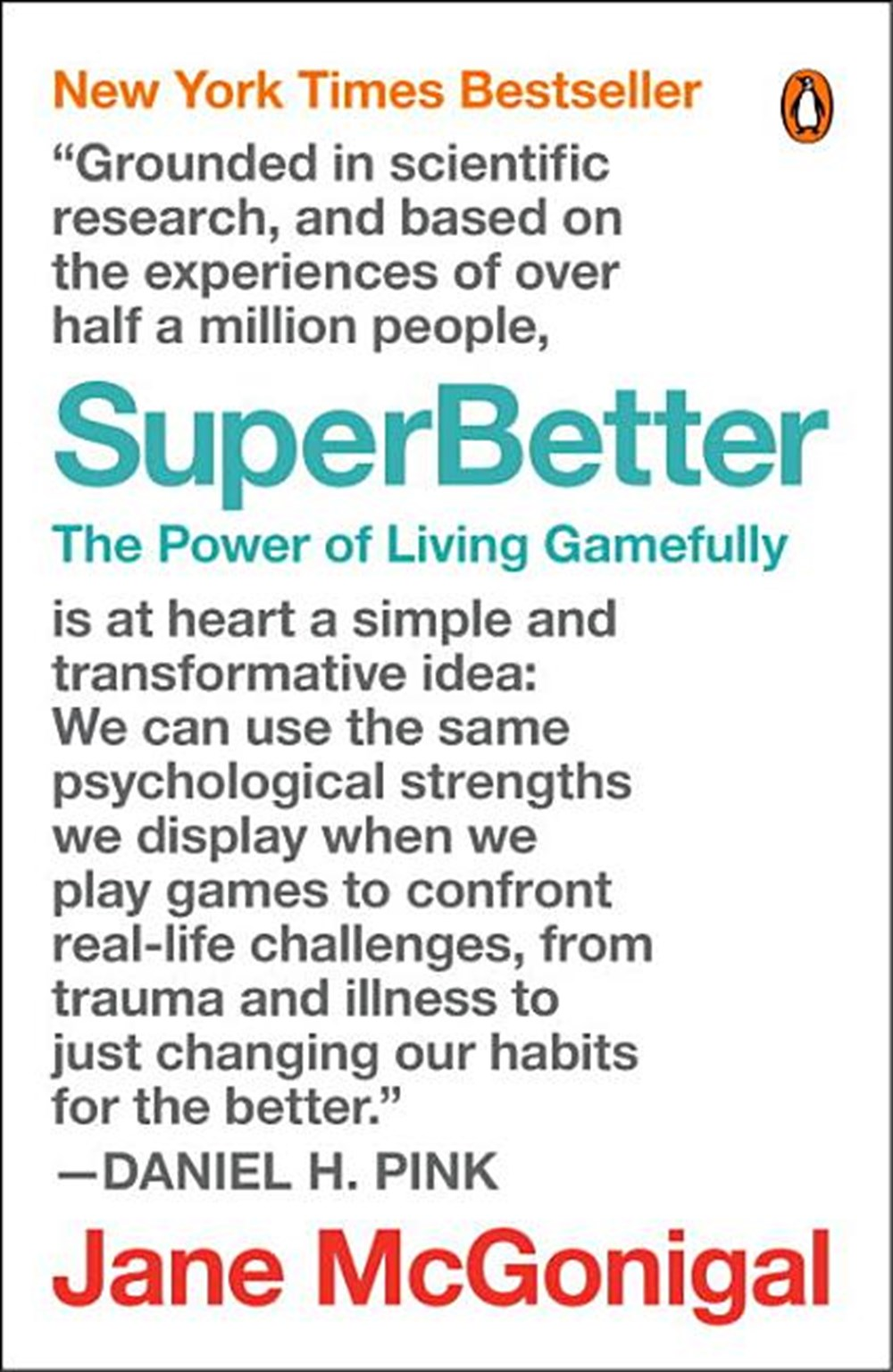 Superbetter The Power of Living Gamefully