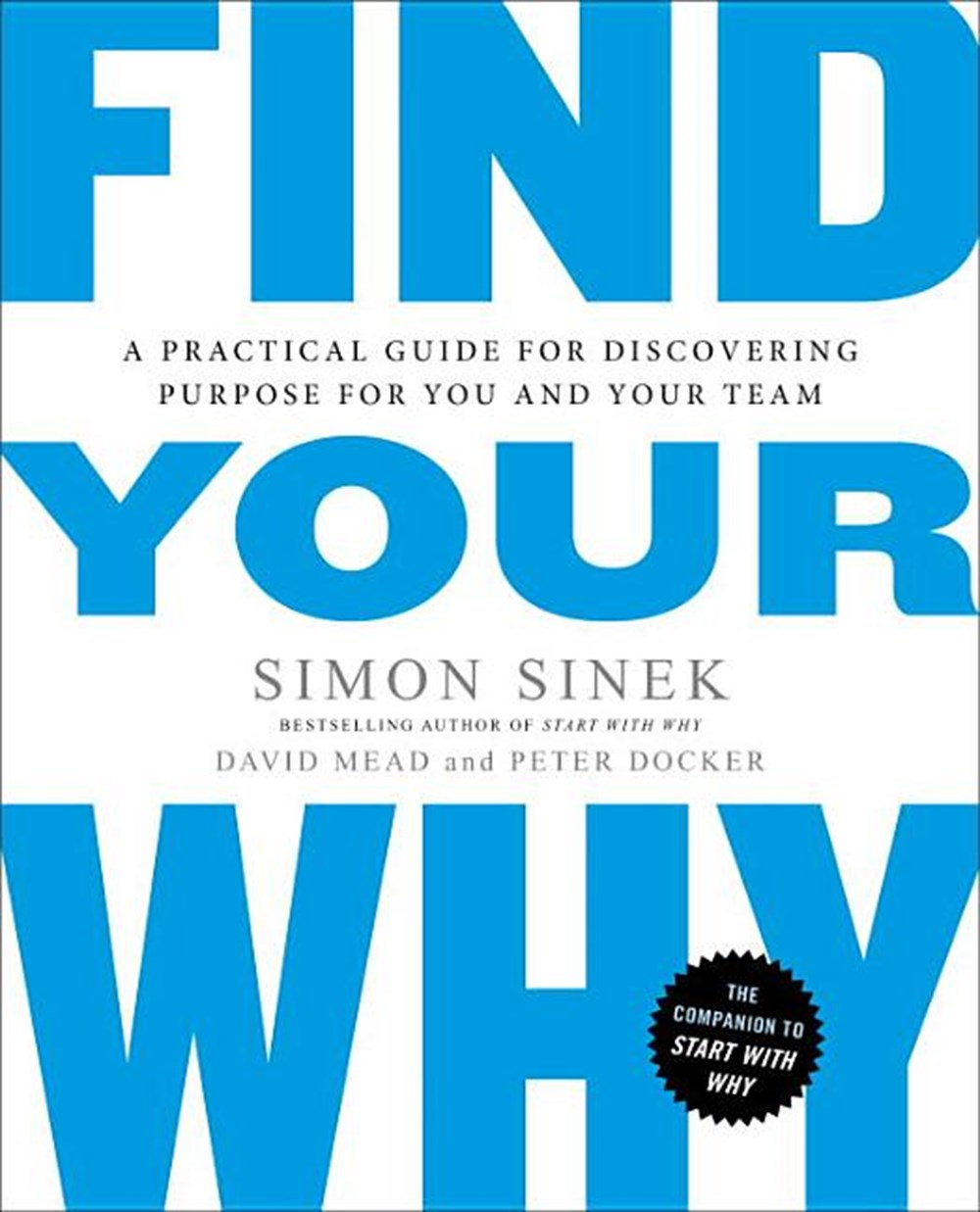 Find Your Why A Practical Guide for Discovering Purpose for You and Your Team