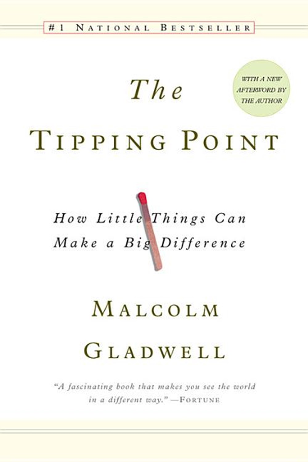 Tipping Point How Little Things Can Make a Big Difference