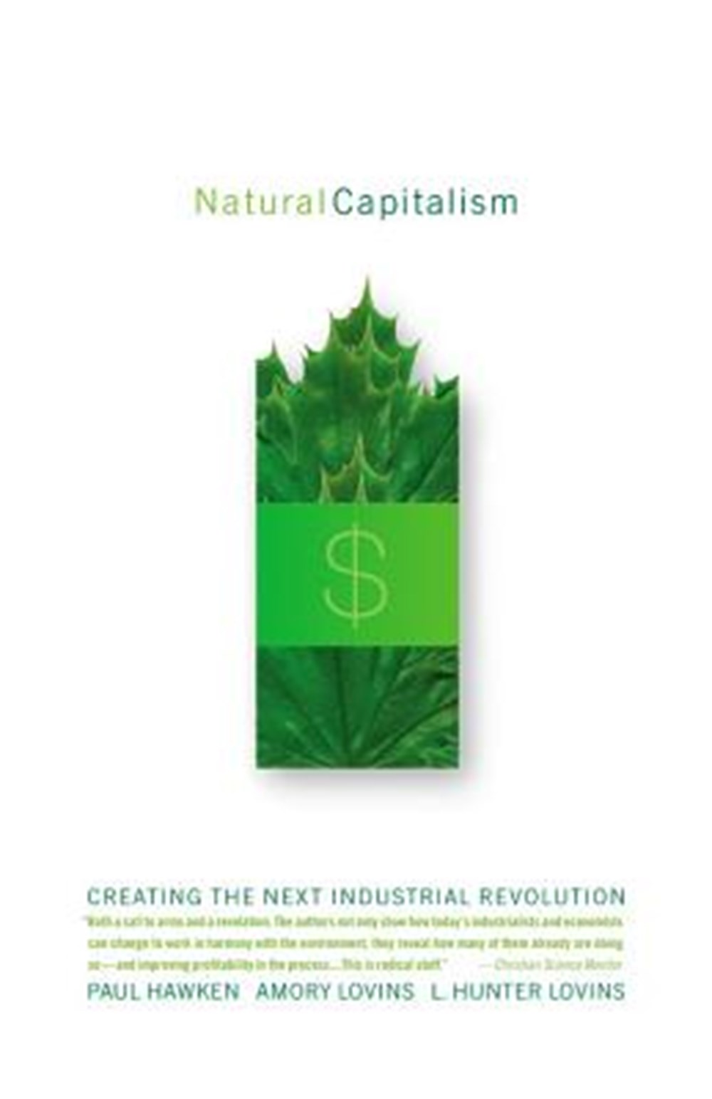 Natural Capitalism Creating the Next Industrial Revolution