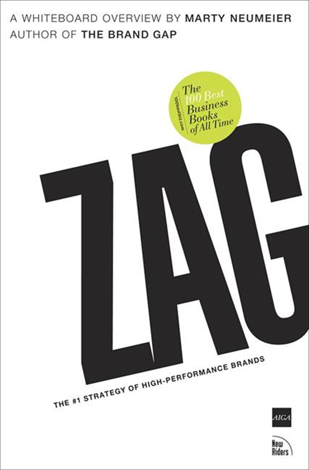 Zag The #1 Strategy of High-Performance Brands
