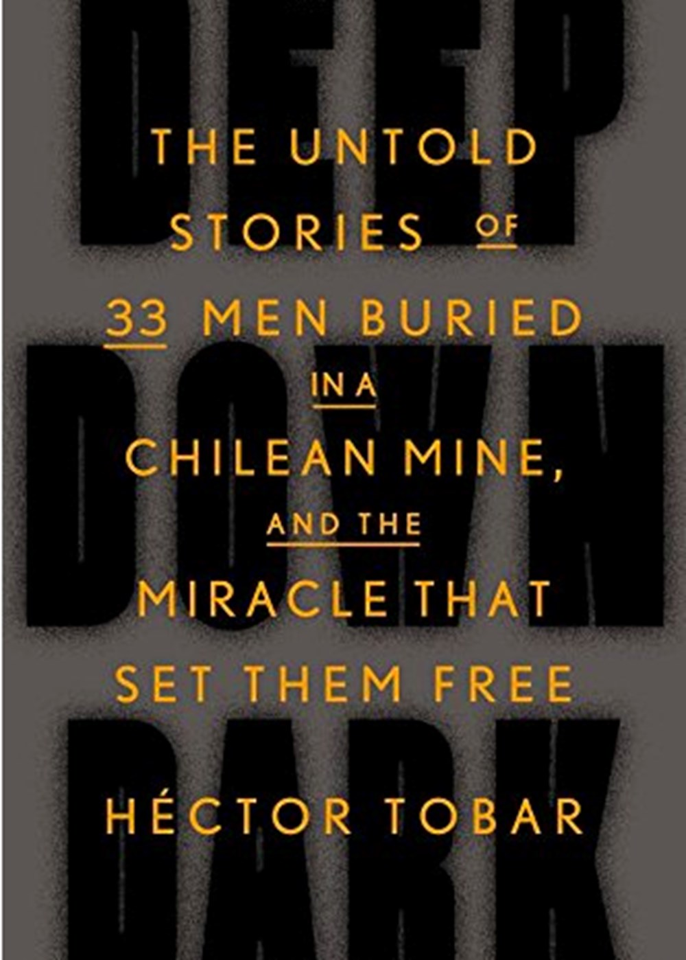 Deep Down Dark The Untold Stories of 33 Men Buried in a Chilean Mine, and the Miracle That Set Them