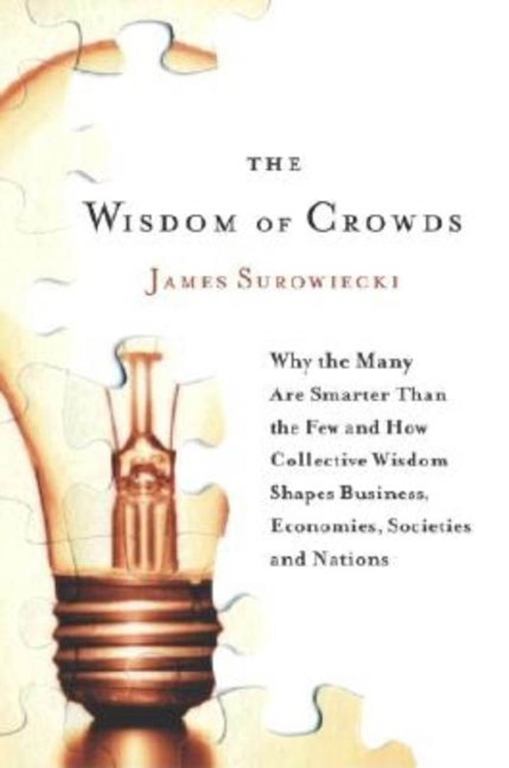 Wisdom of Crowds Why the Many Are Smarter Than the Few and How Collective Wisdom Shapes Business, Ec