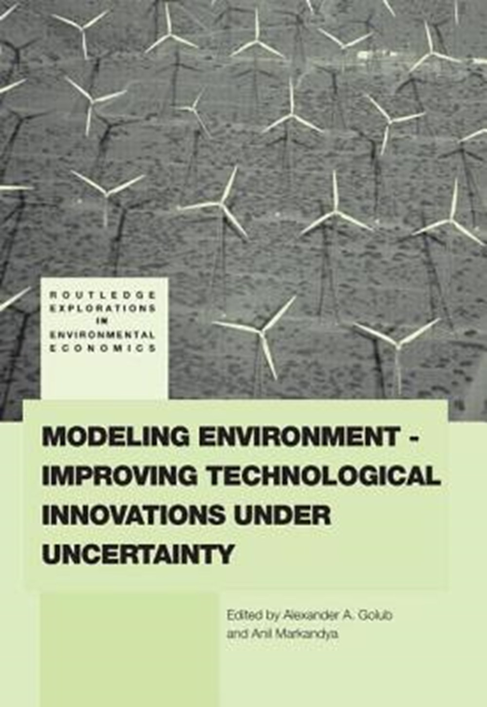 Modeling Environment-Improving Technological Innovations Under Uncertainty