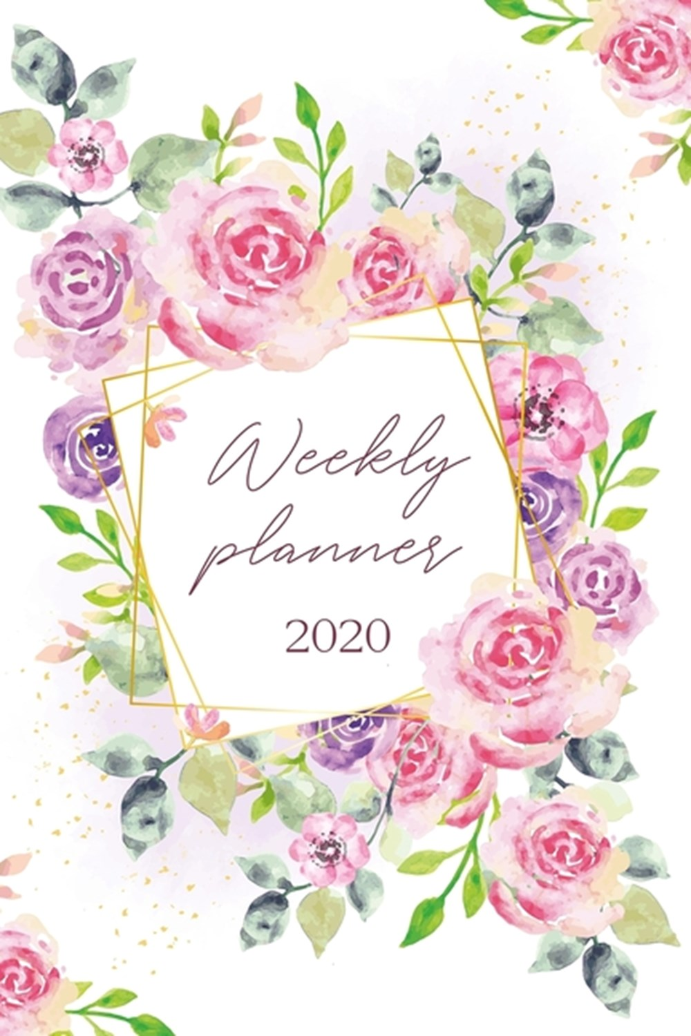Weekly Planner 2020 Weekly And Monthly Calendar Agenda 2020 - College, School and Academic Planner
