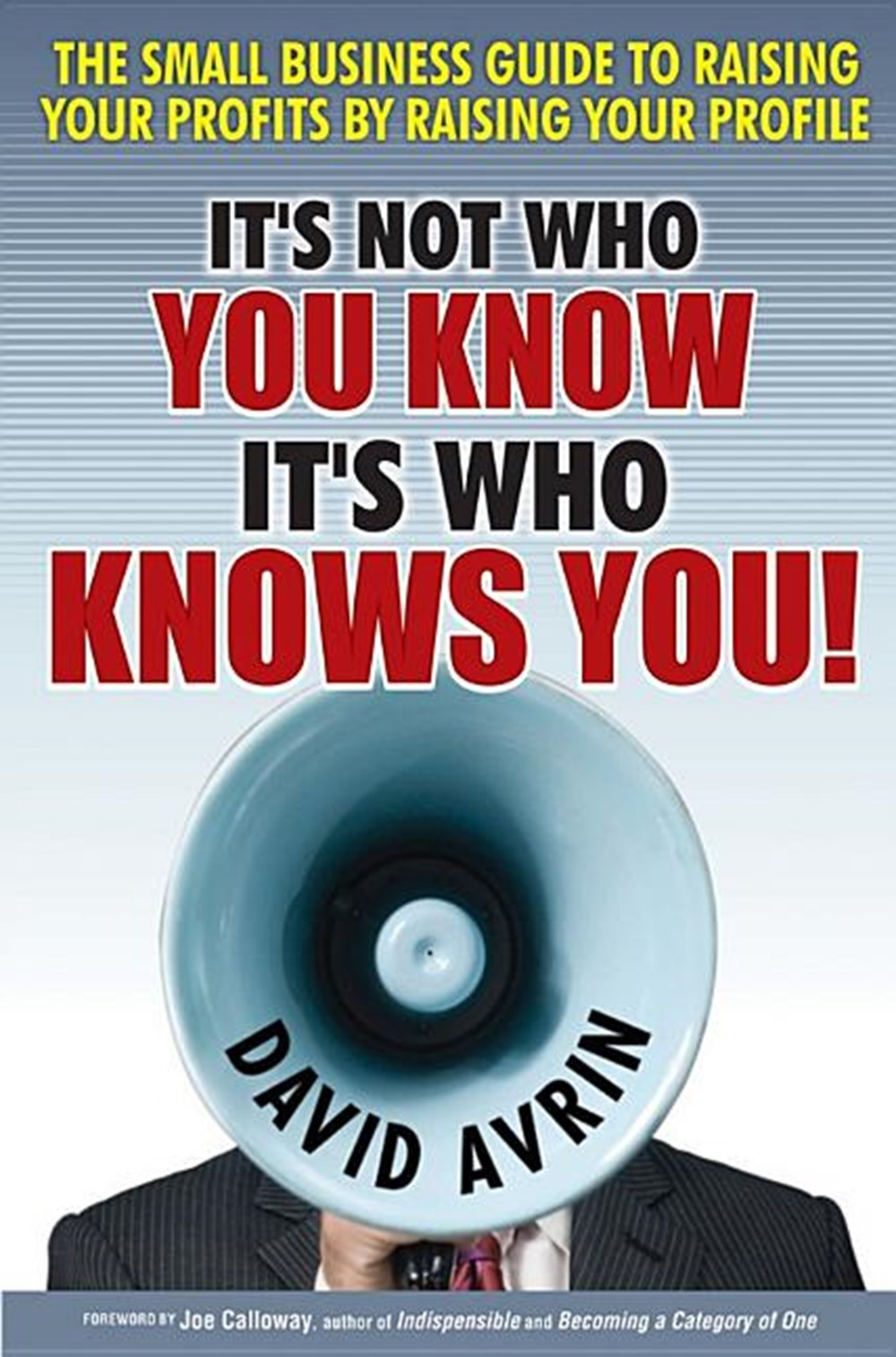 It's Not Who You Know -- It's Who Knows You! The Small Business Guide to Raising Your Profits by Rai