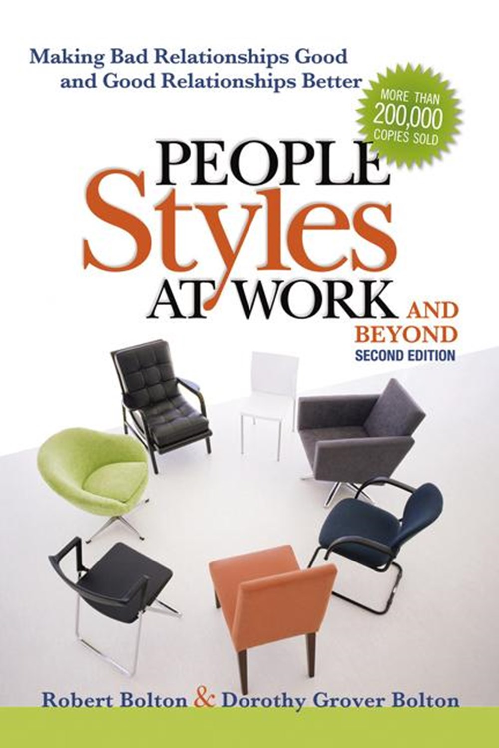 People Styles at Work...and Beyond Making Bad Relationships Good and Good Relationships Better