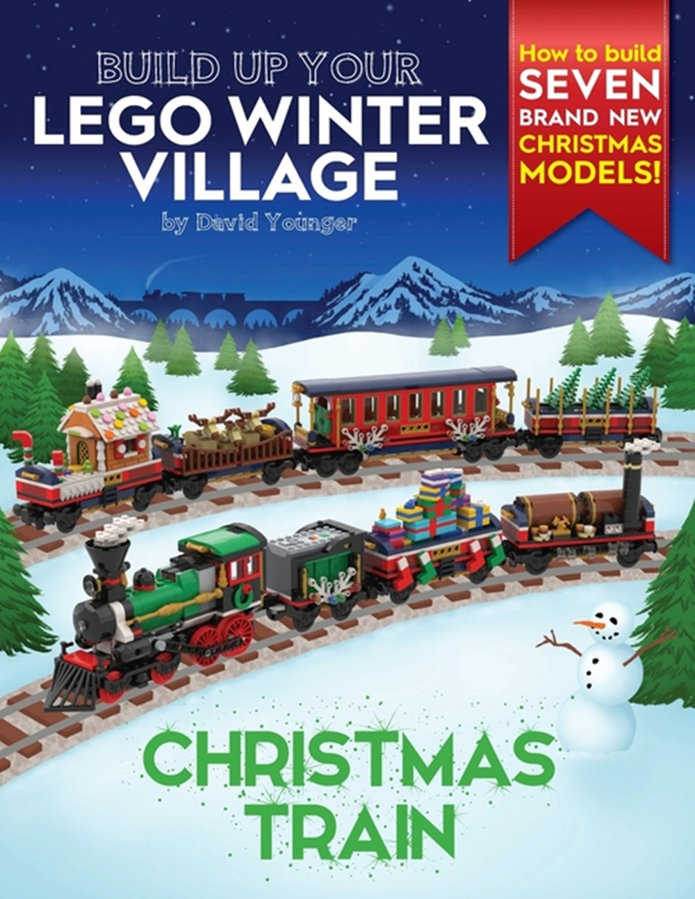 Build Up Your LEGO Winter Village Christmas Train