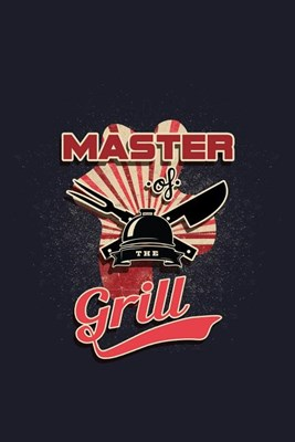 Master Of The Grill: Blank Paper Sketch Book - Artist Sketch Pad Journal for Sketching, Doodling, Drawing, Painting or Writing
