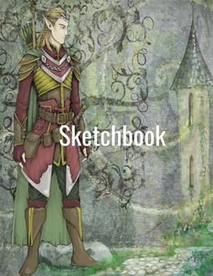 Sketchbook: Artist Sketch Pad For Drawing 100 Blank Pages For Sketching: Art Gift For Women Men Kids