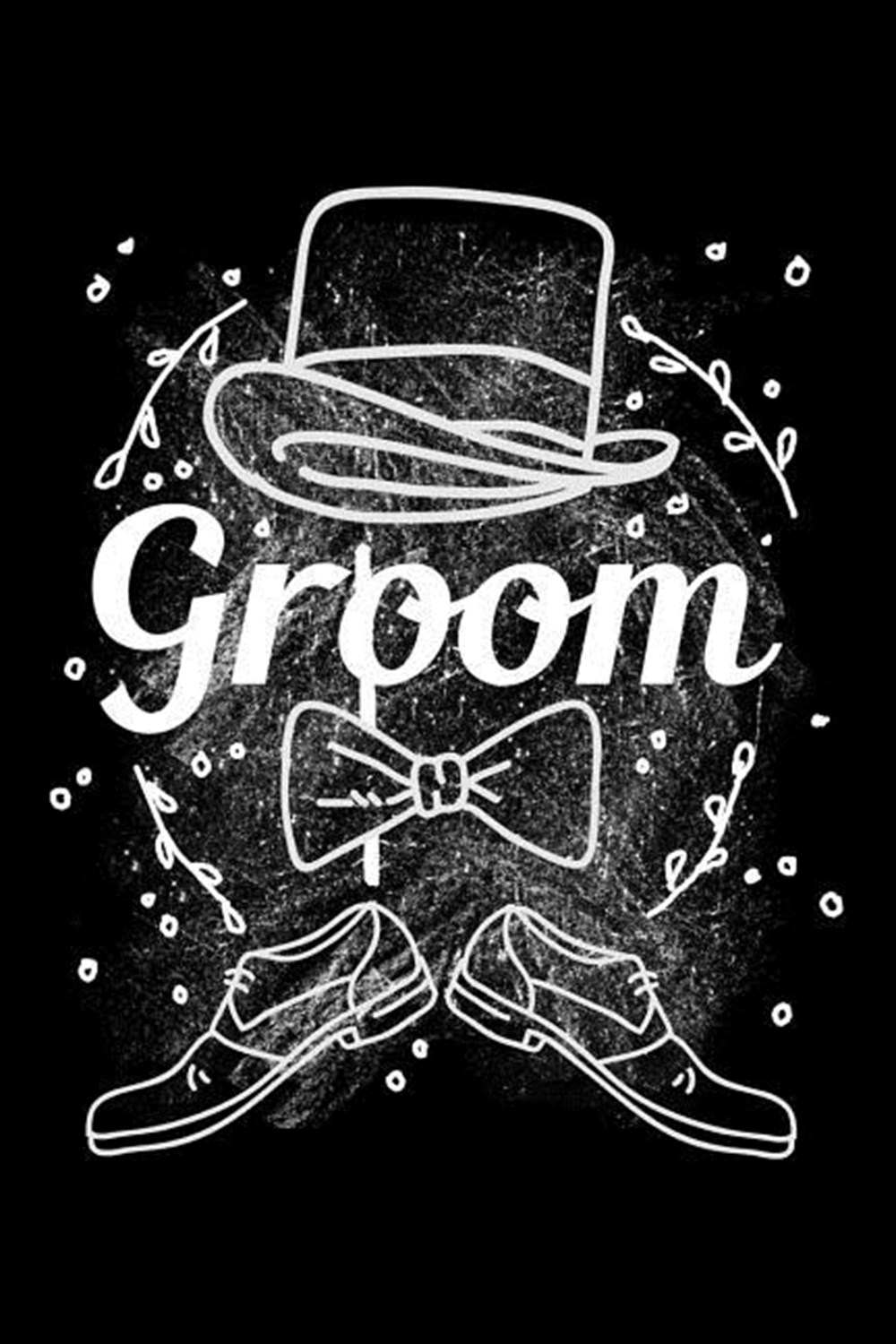 Groom Blank Paper Sketch Book - Artist Sketch Pad Journal for Sketching, Doodling, Drawing, Painting