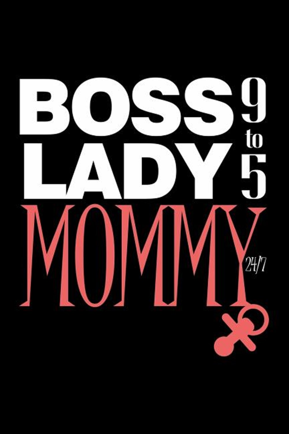 Boss Lady Mommy 9 To 5 24/7 Blank Paper Sketch Book - Artist Sketch Pad Journal for Sketching, Doodl