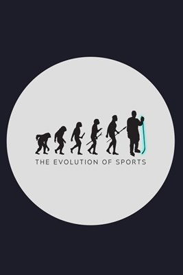 The Evolution Of Sports: Blank Paper Sketch Book - Artist Sketch Pad Journal for Sketching, Doodling, Drawing, Painting or Writing