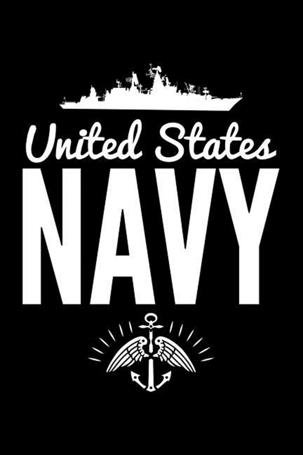 United States Navy Blank Paper Sketch Book - Artist Sketch Pad Journal for Sketching, Doodling, Draw