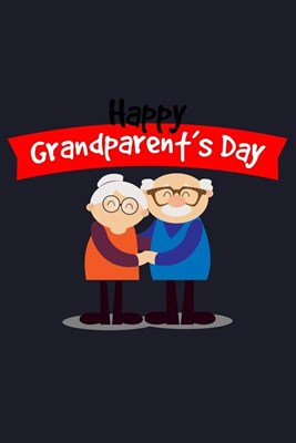 Grandparents Day: Blank Paper Sketch Book - Artist Sketch Pad Journal for Sketching, Doodling, Drawing, Painting or Writing