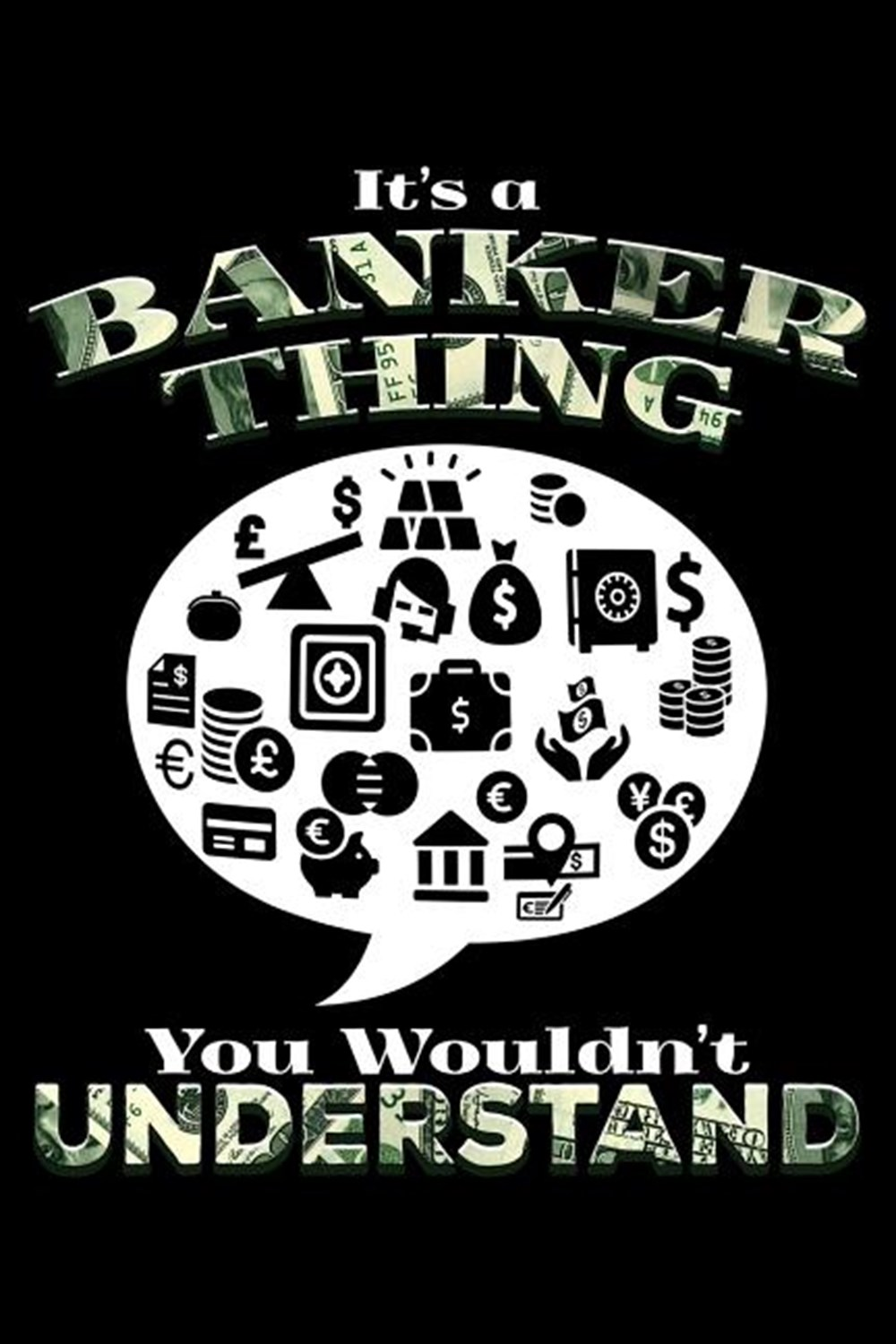 It'S A Banker Thing You Wouldn'T Understand Blank Paper Sketch Book - Artist Sketch Pad Journal for