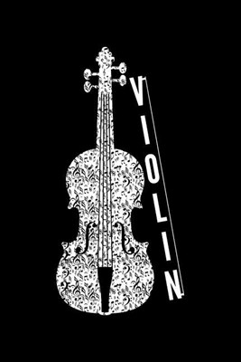 Violin: Blank Paper Sketch Book - Artist Sketch Pad Journal for Sketching, Doodling, Drawing, Painting or Writing