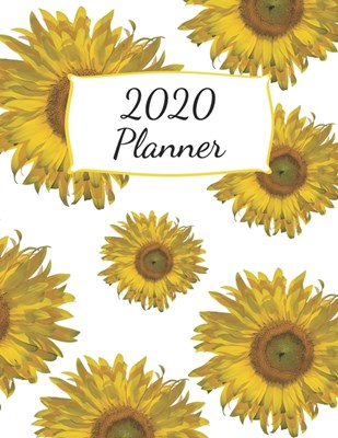 2020 Planner: Dated Weekly Calendar with To-Do List - Yellow Sunflowers
