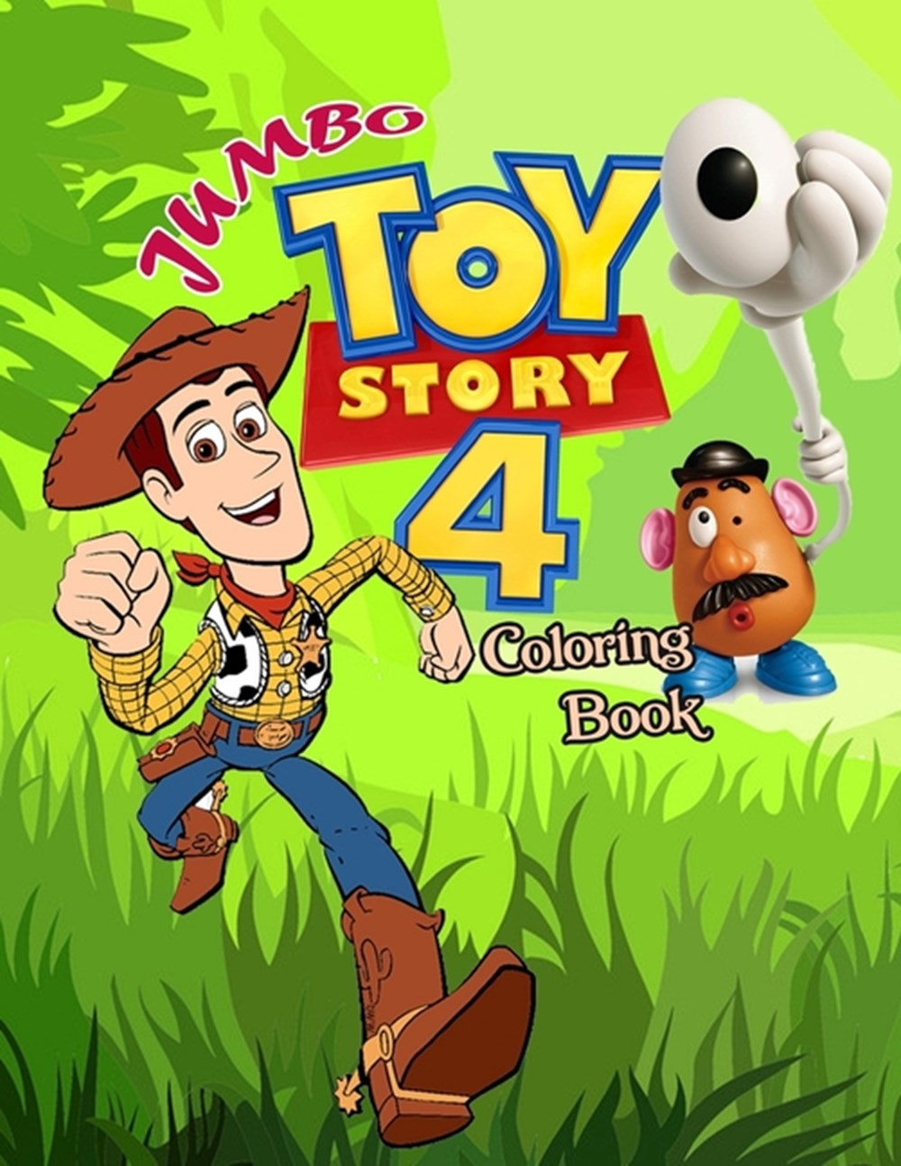 Toy Story 4 Coloring Book In Paperback By Emily Jacobs