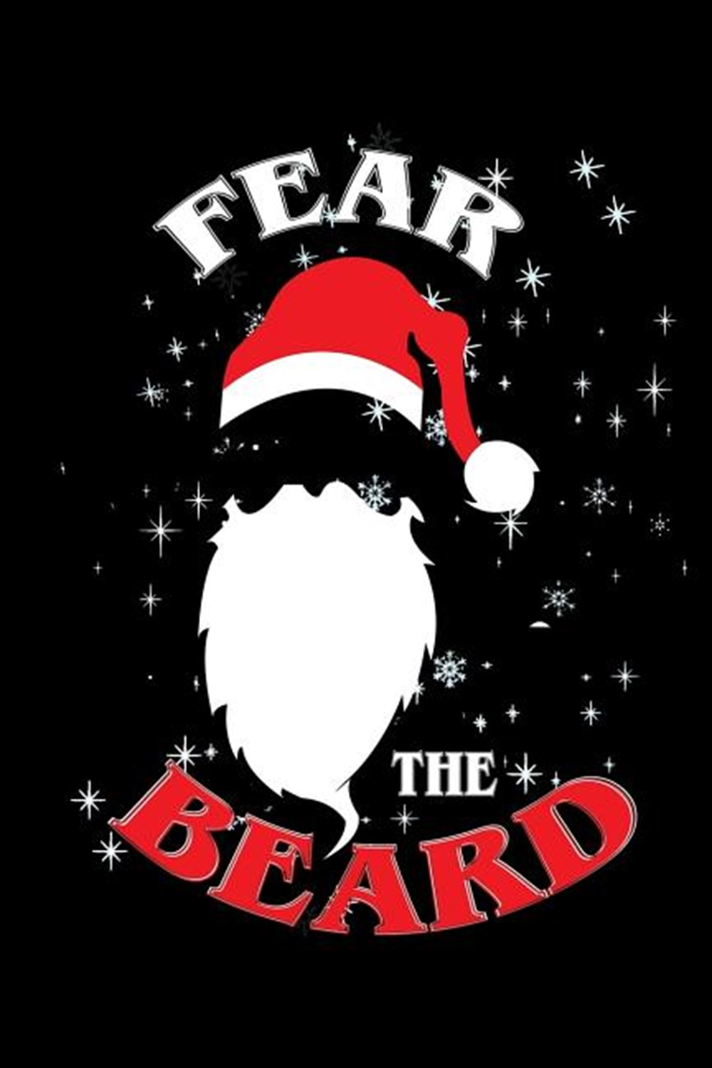 Fear The Beard Blank Paper Sketch Book - Artist Sketch Pad Journal for Sketching, Doodling, Drawing,