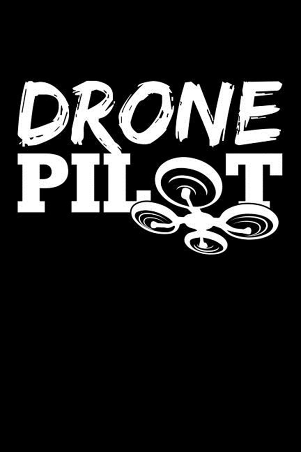 Drone Pilot Blank Paper Sketch Book - Artist Sketch Pad Journal for Sketching, Doodling, Drawing, Pa
