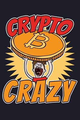 Crypto Crazy: Blank Paper Sketch Book - Artist Sketch Pad Journal for Sketching, Doodling, Drawing, Painting or Writing
