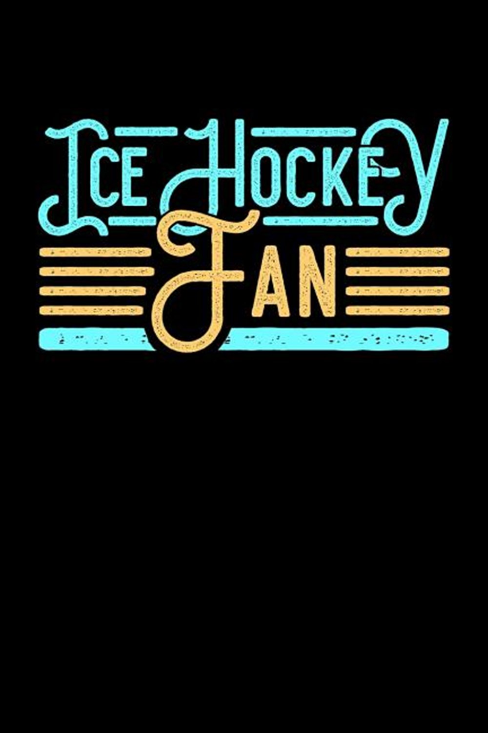 Ice Hockey Fan Blank Paper Sketch Book - Artist Sketch Pad Journal for Sketching, Doodling, Drawing,