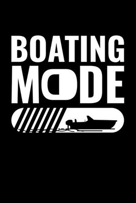 Boating Mode: Blank Paper Sketch Book - Artist Sketch Pad Journal for Sketching, Doodling, Drawing, Painting or Writing
