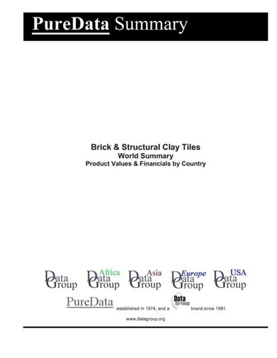 Brick & Structural Clay Tiles World Summary: Product Values & Financials by Country