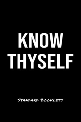 Know Thyself Standard Booklets: A softcover fitness tracker to record five exercises for five days worth of workouts.