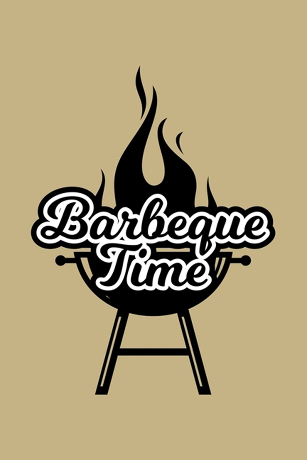 Barbeque Time Blank Cookbook Journal to Write in Recipes and Notes to Create Your Own Family Favorit